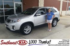 https://flic.kr/p/Djsd17 | #HappyBirthday to Stacy from james adams at Southwest KIA Rockwall! | deliverymaxx.com/DealerReviews.aspx?DealerCode=TYEE