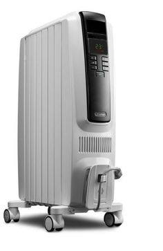 De'Longhi 5,120-BTU Oil-Filled Radiant Electric Portable Space Heater Thermostat #DeLonghi