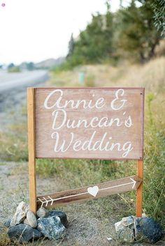 12 Creative Wedding Sign Ideas