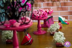 Vanessa Ramos Party e Rica Festa arrasando na Decoração do Primeiro Encontro de Mães Vaidosas