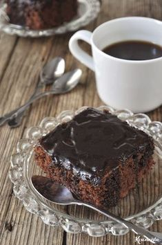 Brownie Cake, Brownies, Food For Thought, Chocolate Cake, Sweets, Breakfast, Desserts, Recipes, Cakes