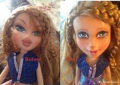 Bratz doll that I repainted.