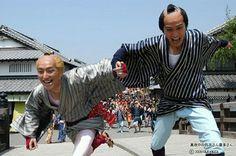 Shichinosuke Nakamura and Tomoya Nagase in Mayonaka no Yaji-san Kita-san (Yaji and Kita: The Midnight Pilgrims) #KudoKan
