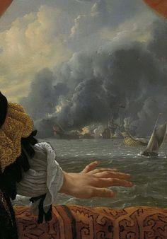 Helst, Bartholomeus van der -- Johan de Liefde (ca.1619-73). Vice-admiraal, 1668