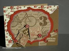Postage Due Birthday by cindy501 - Cards and Paper Crafts at Splitcoaststampers