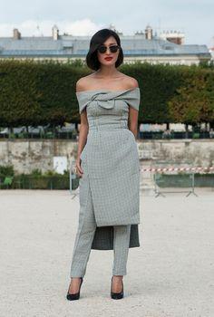 #NicoleWarne looking completely fabulous in Paris. #GaryPepper