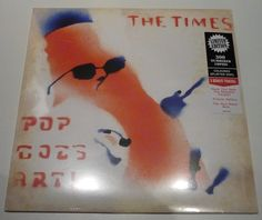 Nu in de Catawiki veilingen: The Times - Pop Goes Art! * Limited LP on SPLATTER vinyl! *
