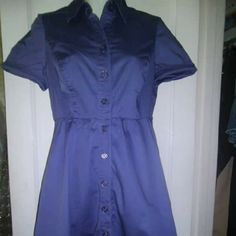 Button down dress Has a Lil discolor underarm pits not too noticeable The Limited Dresses