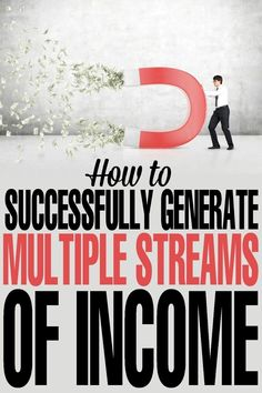tips for how to Successfully Generate Multiple Streams of Income with ease! Money Making Ideas, Making Money,Financial tips for how to Successfully Generate Multiple Streams of Income with ease! Business Tips, Online Business, Business Entrepreneur, Business Accounting, Accounting Software, Business Opportunities, Blogging, Inspiration Entrepreneur, Multiple Streams Of Income