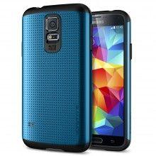Cover Samsung Galaxy S5 Spigen SGP Armor Series Slim Blau  19,99 €