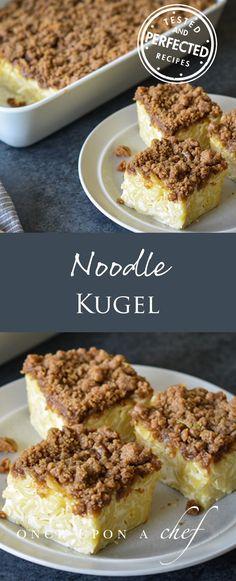 Noodle Kugel   #noodle #noodleholics