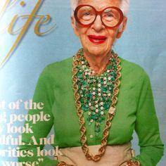 Slikovni rezultat za iris apfel fashion