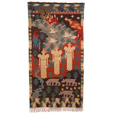 Century Three Maidens Tapestry by Gerhard Munthe Modern Tapestries, Textile Art, Cool Furniture, Fiber Art, Scandinavian, Weaving, Arts And Crafts, Tapestry, Wall Art