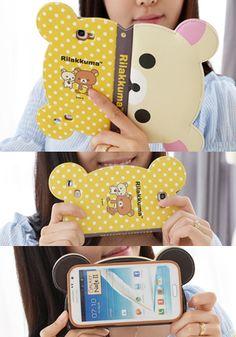 Rilakkuma Case Cover for Samsung Galaxy S4 at ToFebruary.com.