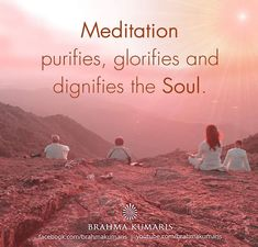 Meditation is a means of transforming the mind.It is a simple practice available to all, which can reduce stress, increase calmness and clarity and promote happiness Rajyoga Meditation, Meditation Benefits, Meditation Quotes, I Love You God, Gods Love, Brahma Kumaris Meditation, Good Night Love Images, Baba Image, Om Shanti Om