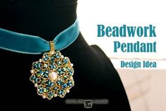 What do you think is the easiest way to design a pendant? Discover my pendant design rules and the creative process step-by-step description.  #beaded #bead #beading #beadwork #designtips #beadweaving #pendant #craft #handmadejewelry #svetlanagallery