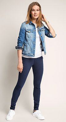Shop the full Esprit collection for all seasons for Women, Men, kids and Maternity styles Skinny Fit Jeans, Maternity Fashion, Kids Outfits, Denim, My Style, Jackets, Pants, Clothes, Shopping
