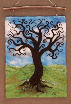 Tree of Life Wall hanging by Christina Serra