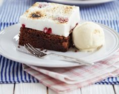 Marshmallow brownies recipe