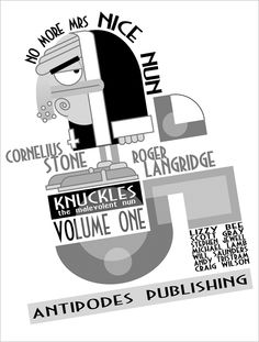 "Knuckles, from my latest feature, ""Vaudeville, Goons, and a Sex-Crazed Nun: Roger Langridge's Absurdist Comics""..."