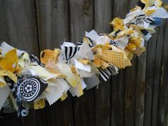 Bumble Bee Inspired Fabric Garland Banner Smash by Propsthatpop, $32.00