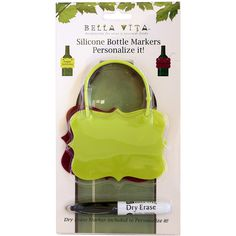 Silicone Bottle Tag Packaging