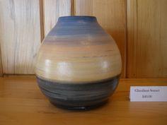 One of the Landscape Vases. White Feathers, Vases, Stoneware, Ceramics, Landscape, The Originals, Studio, Home Decor, Ceramica