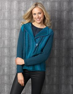 Designs for women by Katia #winter #autumn 2014 / 2015 #winterblue #knitting #katiayarns