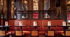 Tuttons - Russell Sage Studio Restaurant Design, Restaurant Bar, Banquette Seating, Coach House, Commercial Design, Sage, Ceiling Lights, Interior Design, Studio