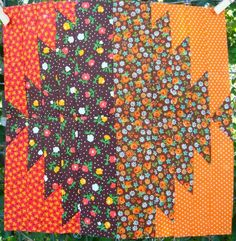 Quilting Gallery Autumn Block- Delectable Mountains