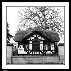 Old Dublin zoo entrance at Phoenix Park. Limited edition signed and mounted photographic print.
