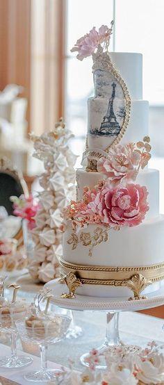 Frivolous Fabulous - Bridal Shower Cake