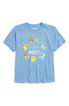 Jem Pokémon® Choose Wisely T-Shirt (Big Boys)
