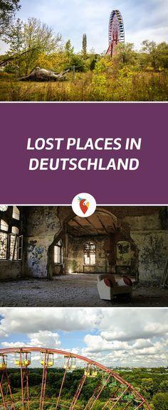 Erkunde diese verlassenen Orte in #Deutschland. Sie eignen sich besonders gut für außergewöhnliche #Fotografien. Alle Infos via Urlaubspiraten.de #LostPlaces