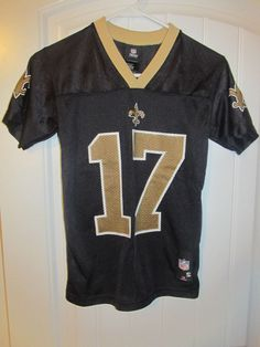 Robert Meachem - New Orleans Saints Jersey - Reebok youth small  Reebok   NewOrleansSaints Robert 87f10d822