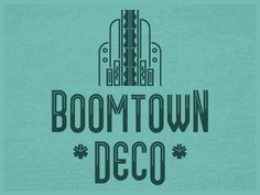 Boomtown Deco (Free Font)