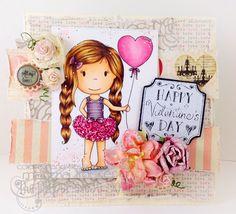 The Paper Nest: Heart Balloon Ellie