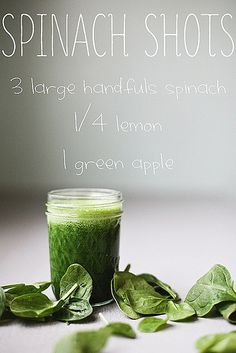 Spinach Shots Juice Recipe | Flickr - Photo Sharing!