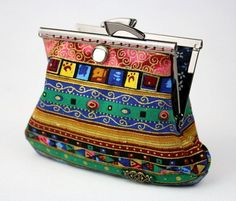 Clutch Purse  Yunnan Ethnic  Cotton Fabric with by CottonTimes, $36.90