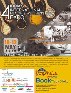 International Health, Yoga Props, Naturopathy, Stalls, Acupressure, Ministry, Health And Wellness, Medicine, India