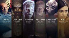 Races of Stargate