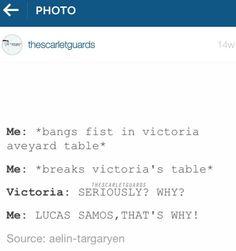 #RedQueen #GlassSword #FollowTheScarletGuardsOnInstagram #VictoriaAveyard #MareBarrows #LucasSamos #Spoilers