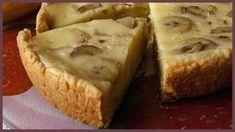 Сладкий пирог с творогом и бананом