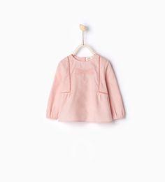 Camisa libélula bordada