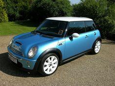 My new car!  :)  Mini Cooper S