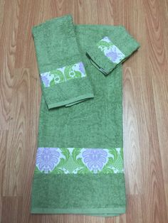 A personal favorite from my Etsy shop https://www.etsy.com/listing/450346290/towel-set