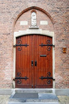 Netherlands, Amsterdam~door photo by sherylmadigan, via Flickr