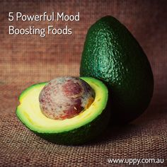 5 Powerful Mood Boosting Foods by Uppy - nutrition, wellbeing and health. Mood boosting advice from www.uppy.com.au