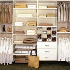 Unique How To Design A Closet System with Enticing Closet Organizer Systembuild…