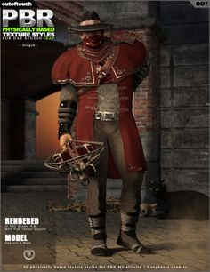 OOT PBR Texture Styles for Dragoh Outfit | Clothing for Poser and Daz Studio